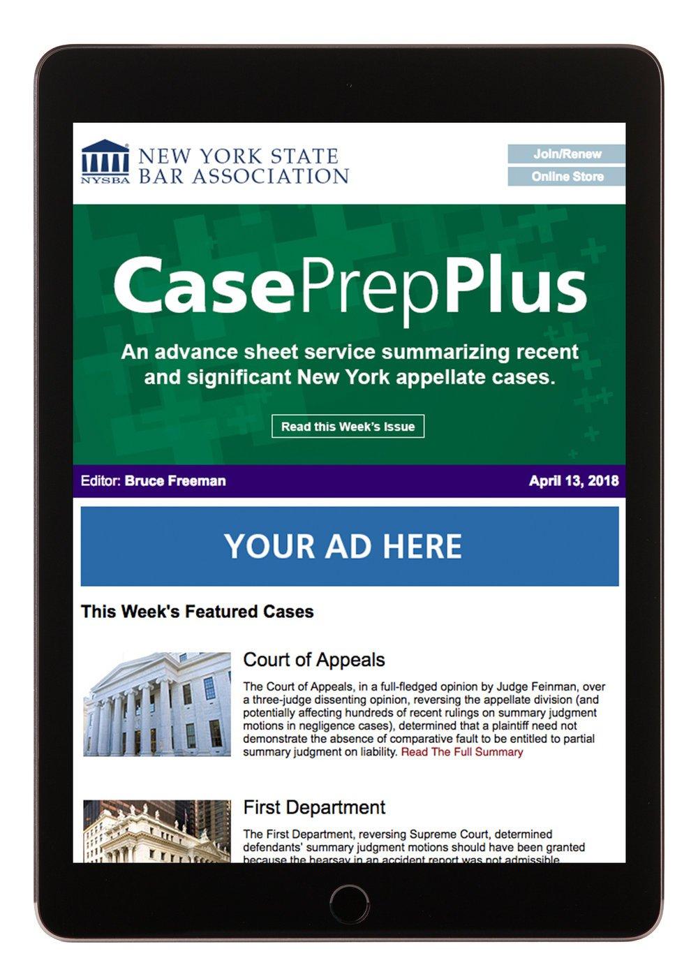 Member Benefits_Legal Research and Alerts_CasePrepPlus