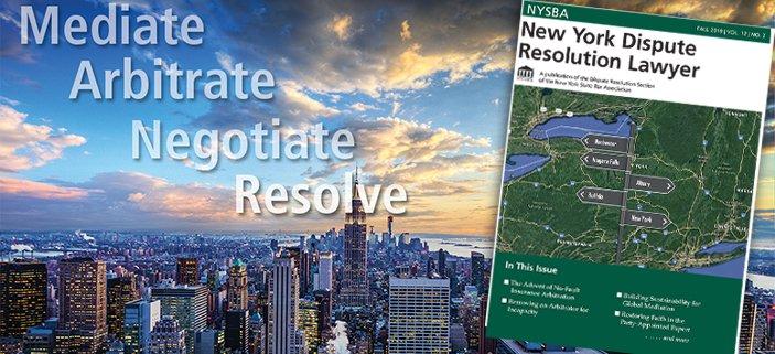 New York Dispute Resolution Lawyer